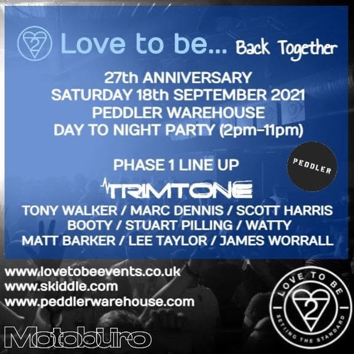 Love to be... back together - 27th Birthday