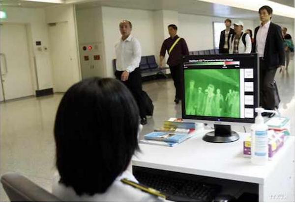 Fever screening Airport Thermal Camera Covid-19