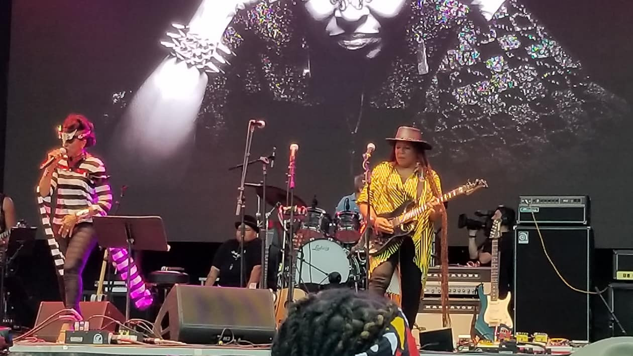 Nona Hendrix Toshi Reagon Allison Miller and Felicia Collins - Afropunk 2018