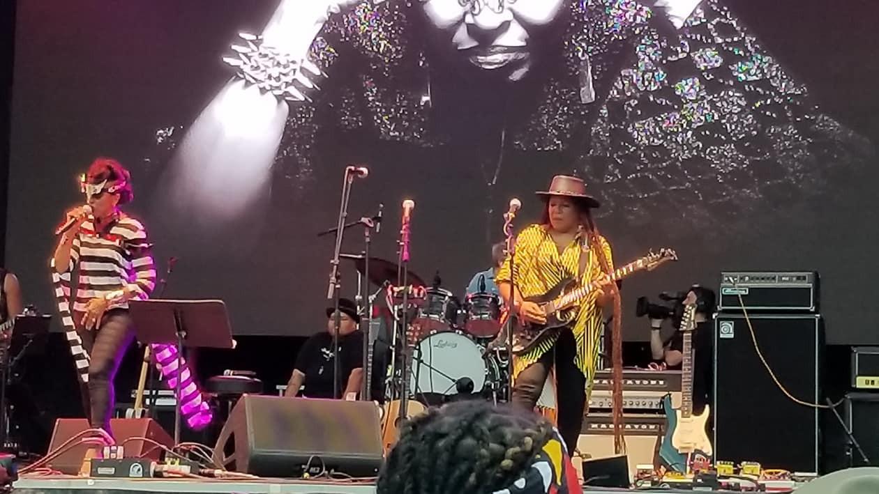 Nona Hendrix Toshi Reagon Allison Miller and Felicia Collins - Afropunk 2018