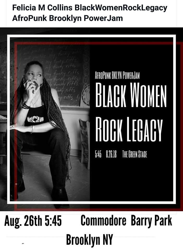 Afropunk 2018 ad- Felicia Collins