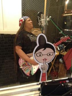 Felicia In The Studio