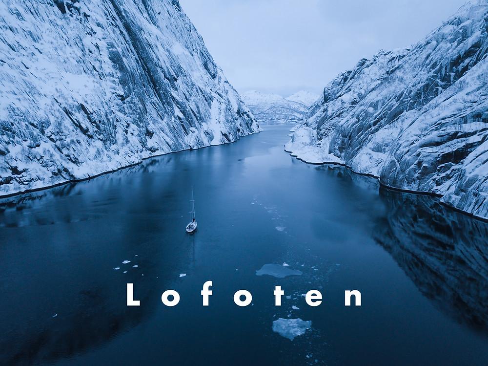 lofoten sailing winter
