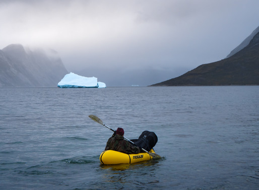 Hiking and packrafting in Greenland