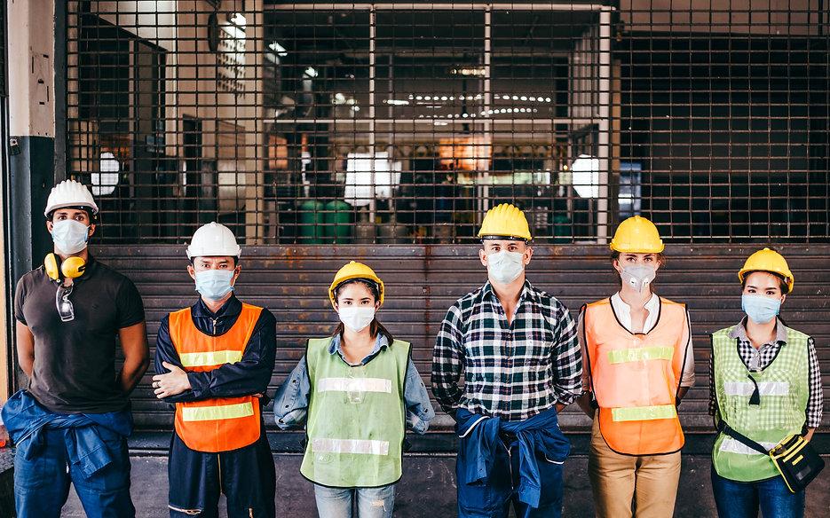 Group of industrial or engineer corporat