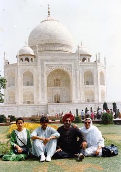 Reunited in India