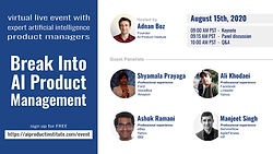 Break Into AI Product Management  event