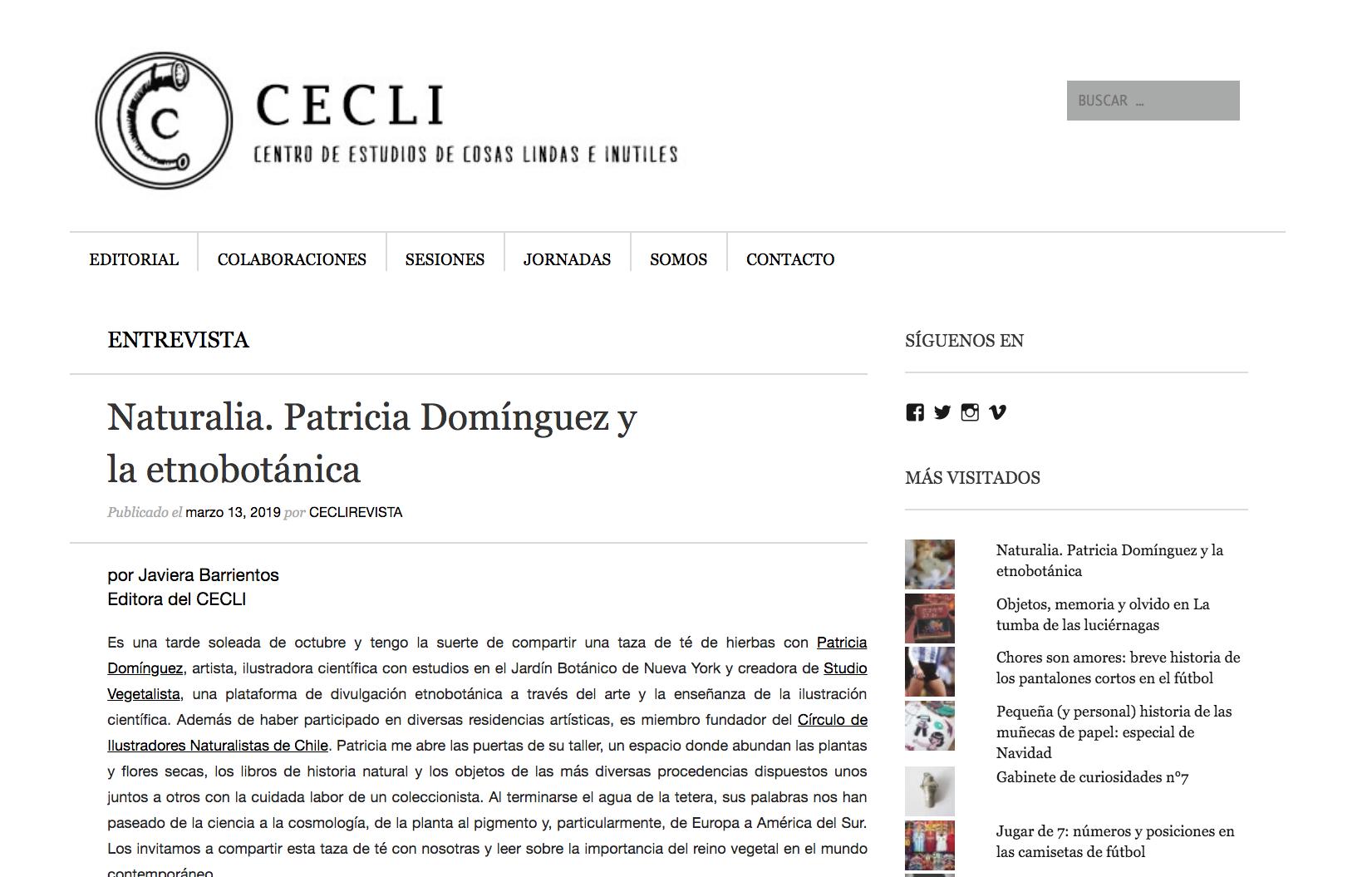 Revista Cecli