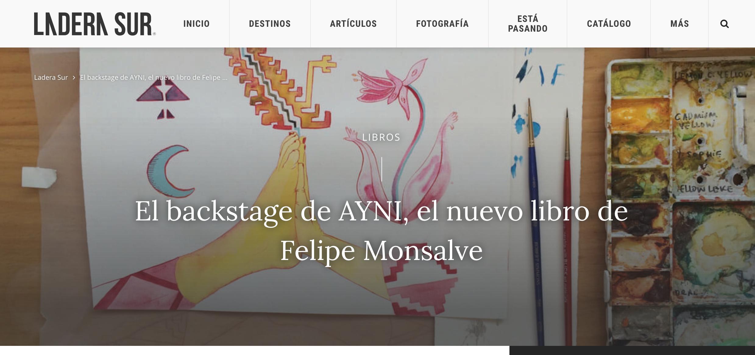 Entrevista a Felipe Monsalve