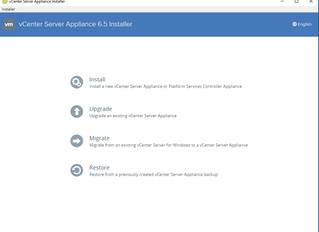 Installing vCenter Appliance 6.5 & Enhancements