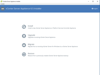 Installing vCenter Appliance 6.5 & Enhancements