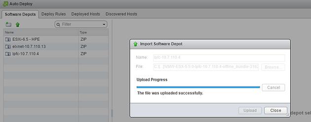 VMware vSphere 6 5 New Image builder GUI   vm-xpress