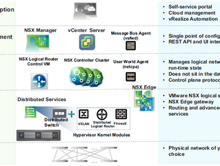 VMware NSX-v Components and Services Overview