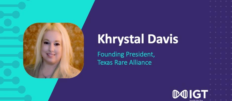 Patient Perspective: Khrystal Davis