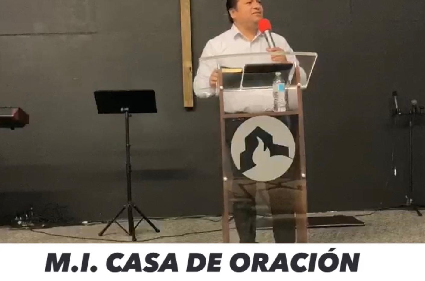 Pastor Efrain Castellanos