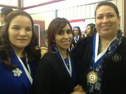 Leticia M, Angeles R. Adriana R,