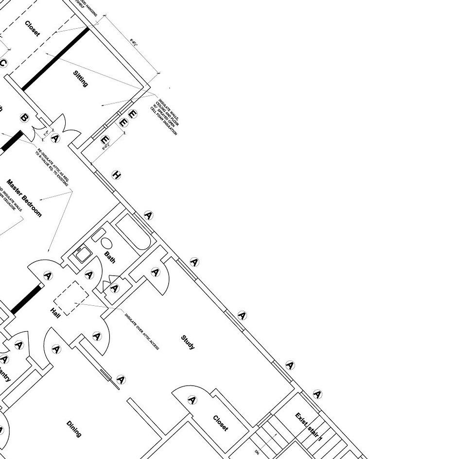 Architecture Floor Plan Sketch