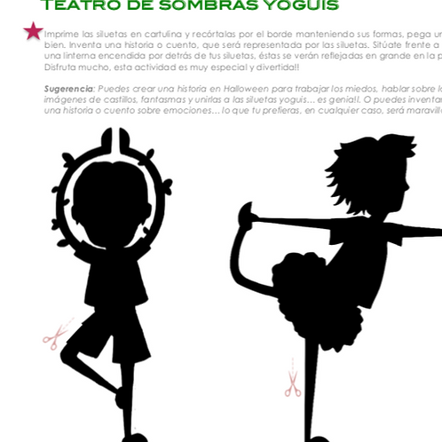 Teatro de Sombras Yoguis. Hippy Kids Yoga