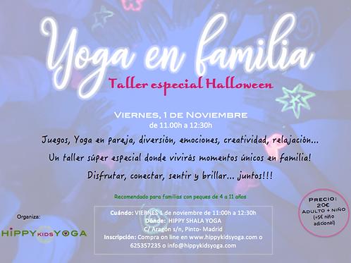 Taller de Yoga en Familia, especial Halloween