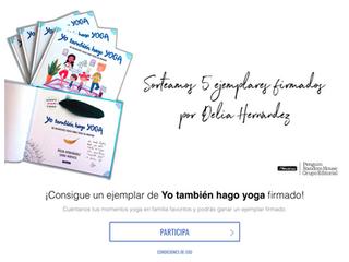"""SORTEO DE LA EDITORIAL: 5 EJEMPLARES DE MI LIBRITO """"YO TAMBIÉN HAGO YOGA"""" FIRMADOS"""