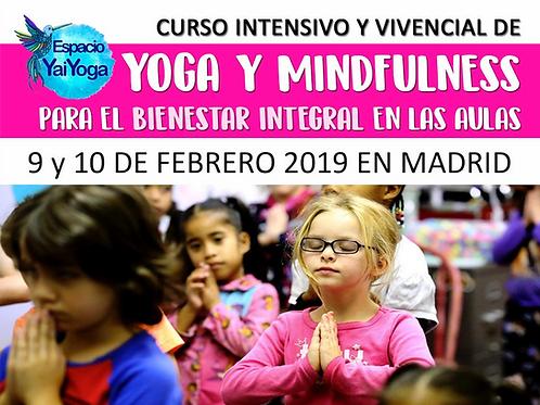 Curso Intensivo Yoga y Mindfulness para el Aula