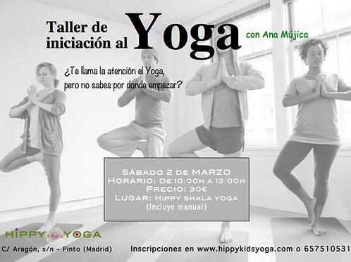 Taller Iniciación al Yoga
