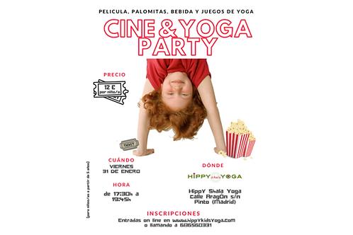 Cine & Yoga Party