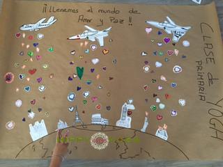 Llenamos el Mundo de Corazones llenos de Amor y Paz!