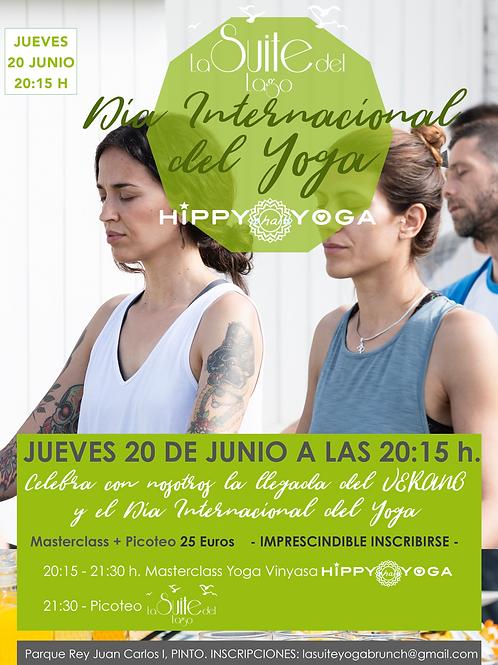 Yoga & Picoteo en La Suite del Lago - Día Internacional del Yoga -