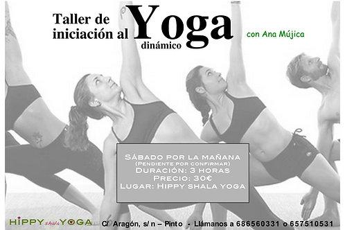 Taller Iniciación al Yoga dinámico