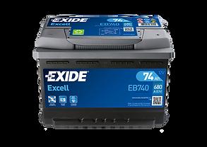 Exide EB740 Battery