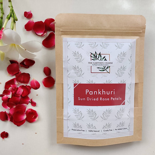 Pankhuri Sun Dried Rose Petals