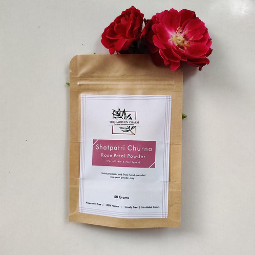Shatpatri Churna Rose Petal Powder ( For All Skin & Hair Types )