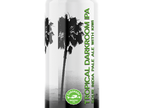 Tropical Darkroom Sour IPA - NEW from Coronado!