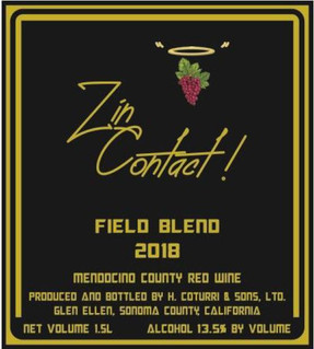 2018 Zin Contact Fields Blend