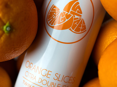 Orange Slices Double IPA - NEW from Twin Sails!