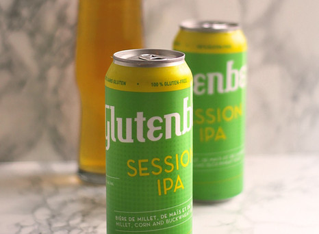 Session IPA - NEW from Glutenberg (to Western Canada)