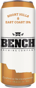 Bench Short Hills East Coast IPA