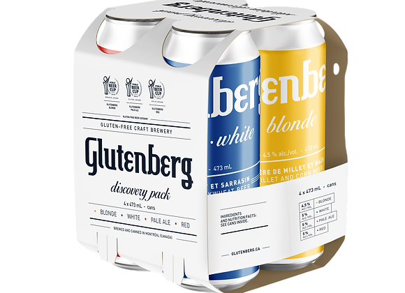 Glutenberg - Discovery pack (4 x 473ml)