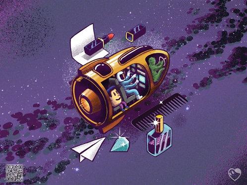 "Nova Galactus - Unlimited Edition Prints 11""x 14"""