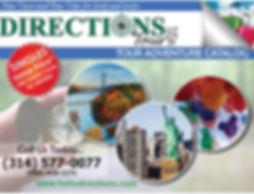 DIRECTIONS Tours Summer 2019 2020 Catalo