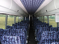 56 Passenger Coach Interior