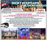Smoky Mountain & Biltmore Christmas 2021