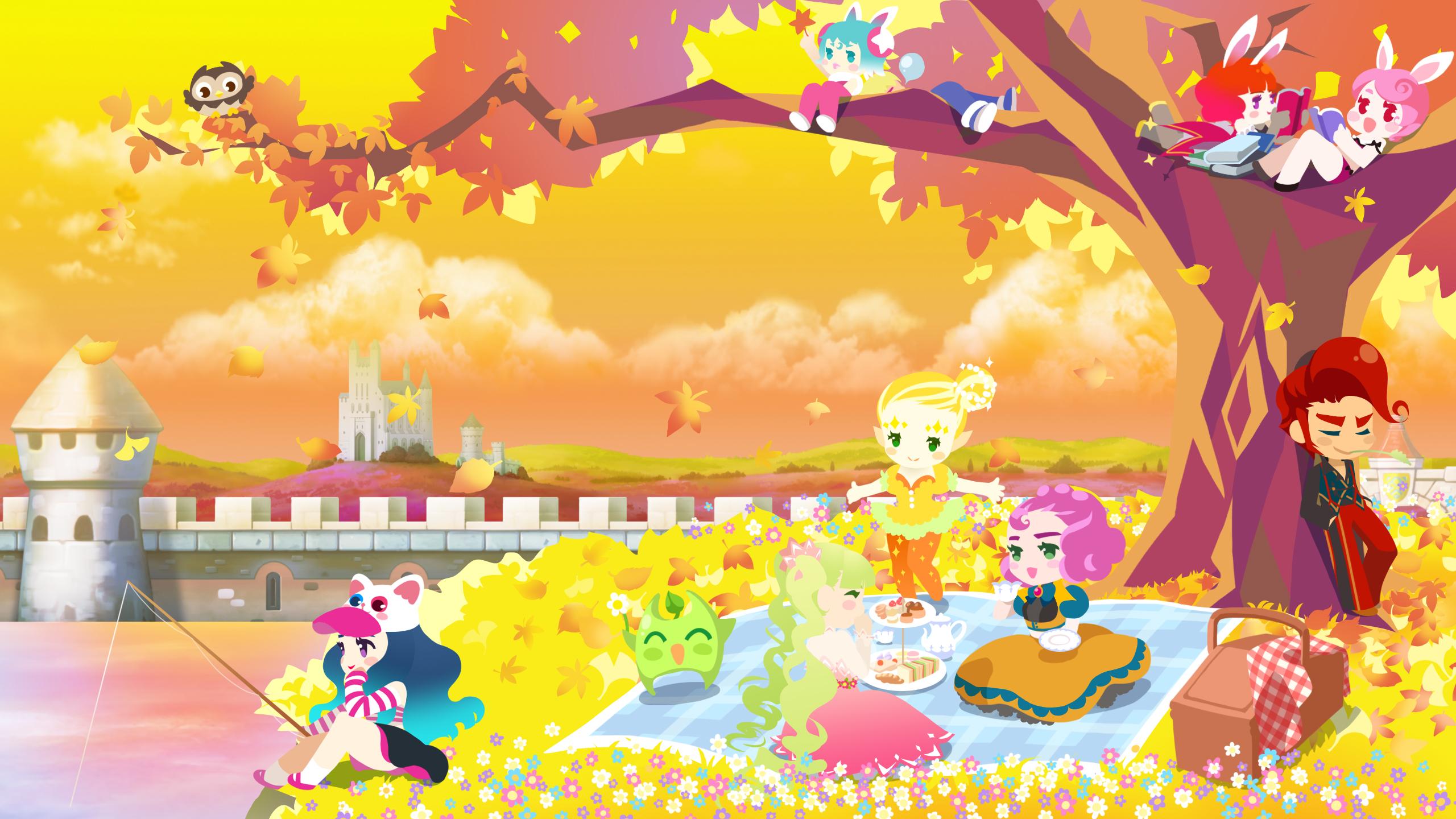 가을의 용사학교