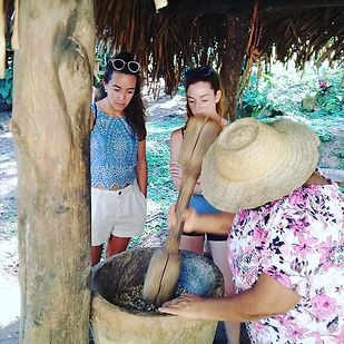 Farm to table! Visit finca Maria and Cho