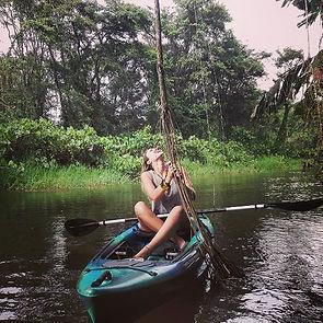 Jungle exploring! Paddle the winding riv