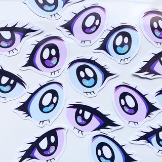 anime eye stickers