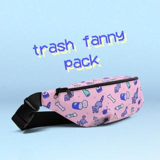 trash fanny pack
