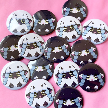 Wooloo Buttons