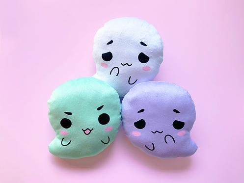 Kawaii Ghost Plush